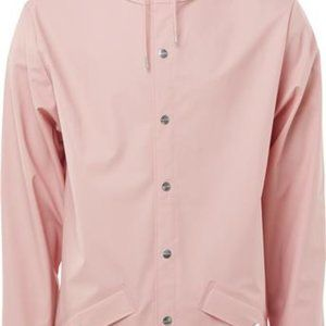 Rains Unisex Rain Coat In Pink